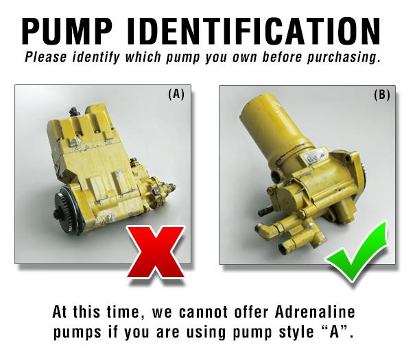 Catpumpcomp on 3126 High Pressure Oil Pump